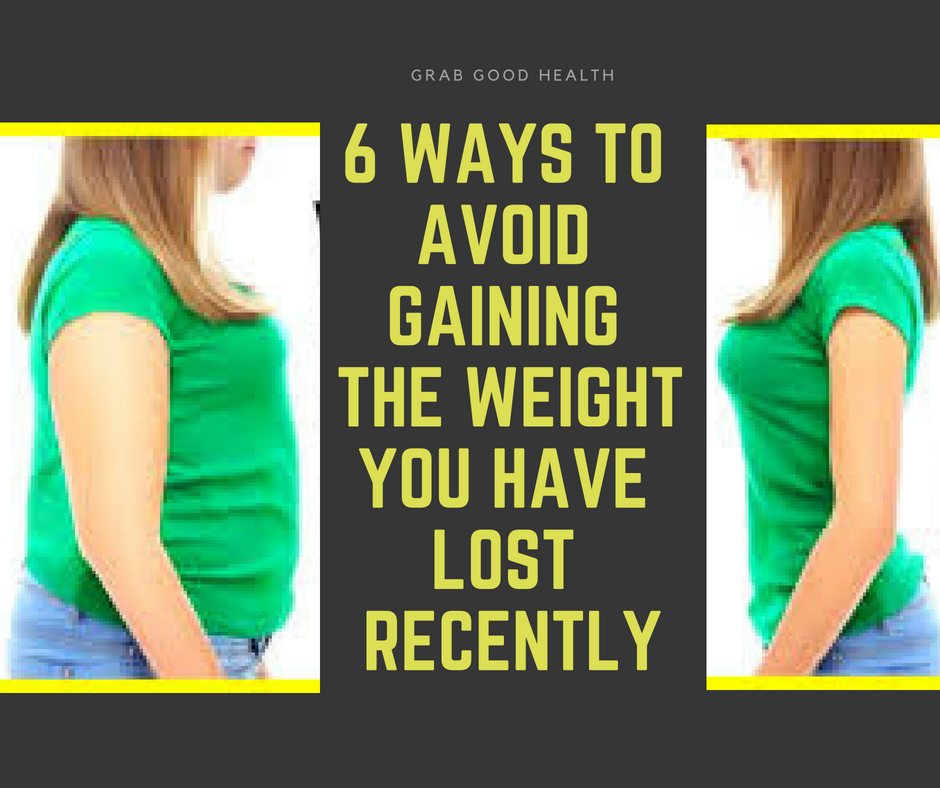 Avoid gaining weight back